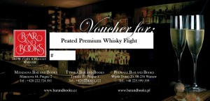 Peated Premium Whisky Flight